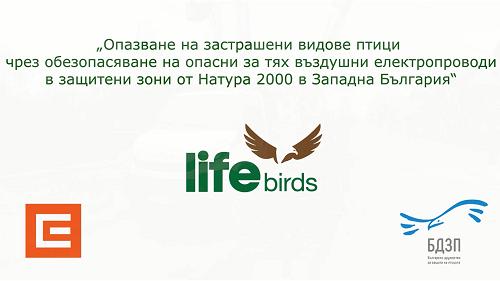 """Монтиране на първа платформа по проект """"Живот за птиците"""""""